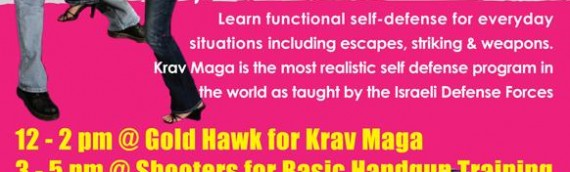 Women's Self Defense Seminar – Krav Maga & Gun Training